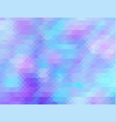 soft color pastel pink blue polygonal vector image