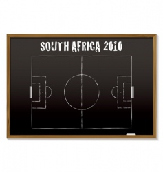 world cup South Africa 2010 vector image vector image