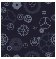 gear pattern vector image