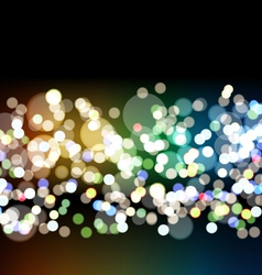 Blurry Lights vector image