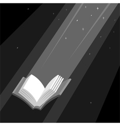 Book is Light vector