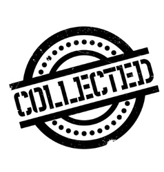 Collected rubber stamp vector