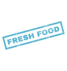 Fresh Food Rubber Stamp vector image
