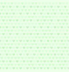 Green heart pattern seamless vector