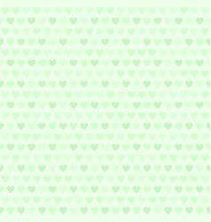 green heart pattern seamless vector image