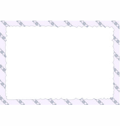 Orn frame oblique blue vector