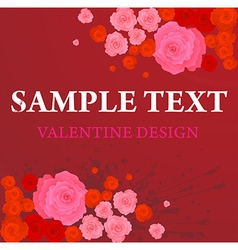 Romantic Floral vector