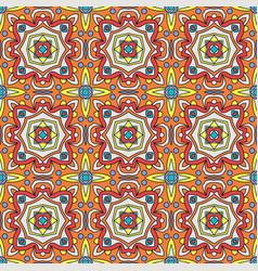Talavera oblana mexican seamless pattern vector