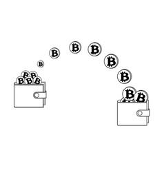 Transfer bitcoin in the wallet vector