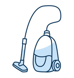 vacuum cleaner isolated icon vector image