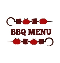 BBQ set vector image vector image