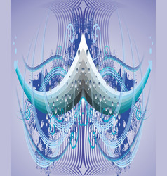 Abstract droplets vector