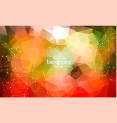 abstract multicolor geometric polygonal vector image