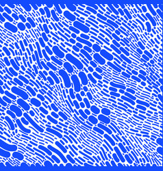 blue abstract shapes seamless texture isolated vector image