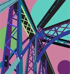 Bridge Scene vector