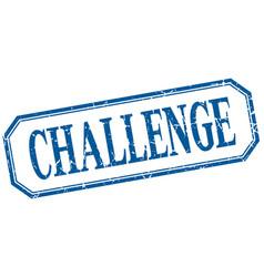 Challenge vector