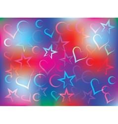 holiday congratulation card vector image