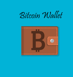 Mobile bitcoin payment design vector