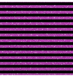 Parallel Horizontal lines Pink sequins Stars vector