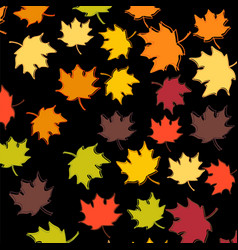 Set four backgrounds with leaves and twigs vector