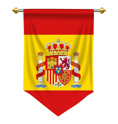 Spain pennant vector