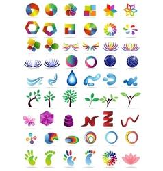 Logo collection set vector image