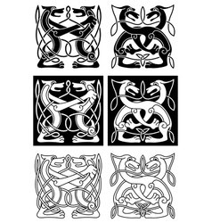 Tribal celtic ornament vector image vector image