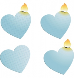 heart burn vector image
