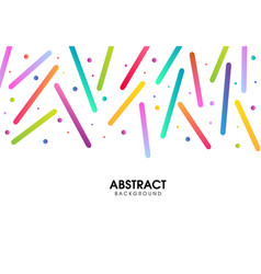 Abstract colorful pattern design vector