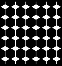 Hexagon shape seamless pattern vector