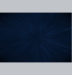 Light zoom abstract star effect vector