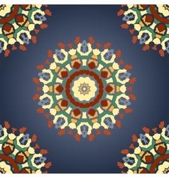 Seamless Mandala Print with Gradient vector