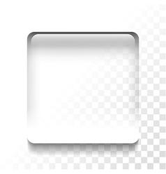 transparent stop vector image