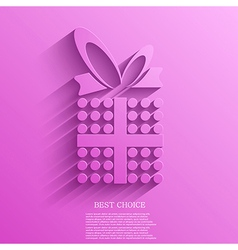 gift background Eps10 vector image vector image