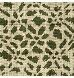 rough textile print vector image