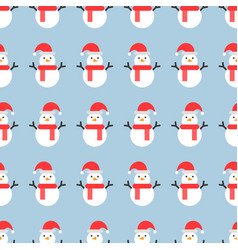 Christmas seamless pattern for use as wallpaper vector
