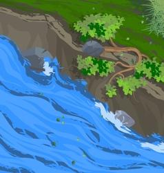 Creek vector