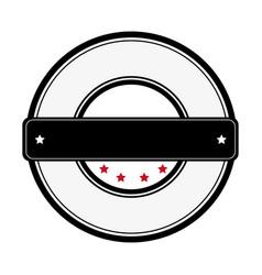 elegant frame emblem icon vector image