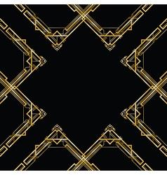 Gatsby square vector