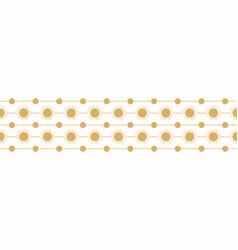 Gold horizontal striped sun vector