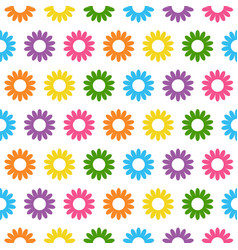 Seamless floral pattern abstract floral vector
