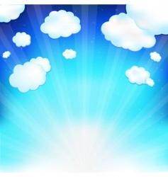 skyscape vector image
