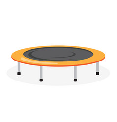 Trampoline icon on white background vector