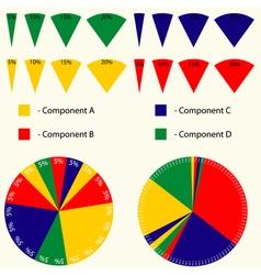 Infographics tools set vector