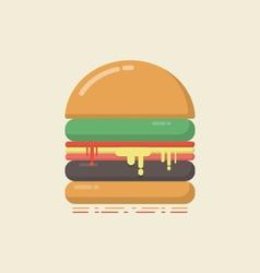 429flat hamburgerVS vector