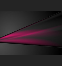 Black and purple abstract smooth stripes vector