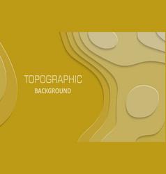 geometric paper cut background vector image