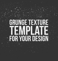 grunge texture template for your design vector image