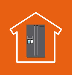 home appliences design vector image