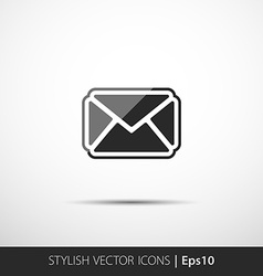 Mail icon envelope symbol message sign vector